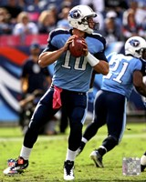 Jake Locker 2011 Action Fine Art Print
