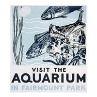 Visit the aquarium in Fairmount Park - various sizes