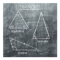 Triangles - various sizes