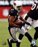 Larry Fitzgerald 2011 Action Fine Art Print