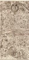 Plan de la Ville de Paris, 1715 (M) Fine Art Print