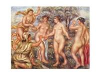 Pierre-Auguste Renoir the Judgement of Paris - various sizes