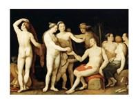 The Judgment of Paris Aphrodite Fine Art Print