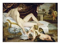 Venus and Adonis Fine Art Print