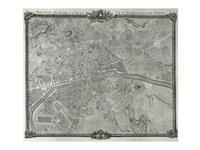 1775 Plan de Jaillot, 1775 - various sizes, FulcrumGallery.com brand
