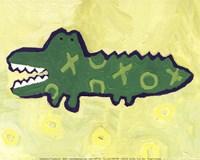 Croc -mini Fine Art Print