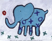 Elephant - mini Fine Art Print