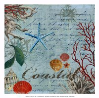 "Coastal - mini by Aimee Wilson - 13"" x 13"""