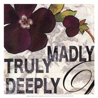 """Madly by Aimee Wilson - 13"""" x 13"""", FulcrumGallery.com brand"""