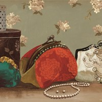 My Red Purse - mini Fine Art Print