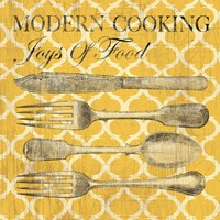 Modern Cooking Fine Art Print