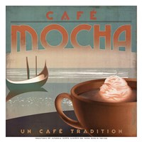Cafe Mocha - mini Fine Art Print