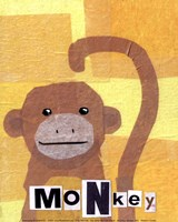 Monkey - mini Fine Art Print