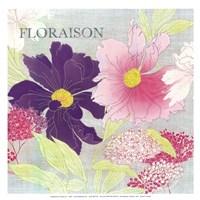 "Florasion -mini by Yana Beylinson - 13"" x 13"""