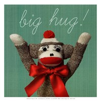 Big hug - mini Fine Art Print
