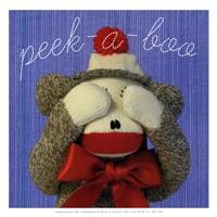 """Peek a Boo by JS Christie - 13"""" x 13"""""""