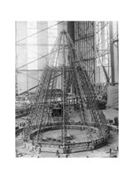 Rear Frame Constructing New German Zeppelin Fine Art Print