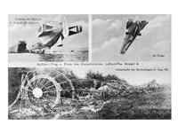 Zeppelin's Chen Luftschiffes Modell 4 Fine Art Print
