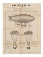 Navire Aerien Blimp Fine Art Print