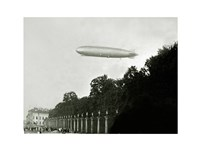 Zeppelin - in the air Fine Art Print