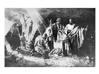 The Nativity in Palestine Fine Art Print