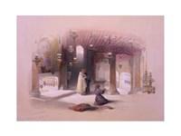 Shrine of the Nativity Bethlehem April 6th 1839 Fine Art Print