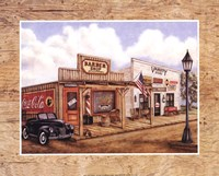 Barber Shop Fine Art Print