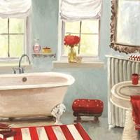Tranquil Bath II Fine Art Print