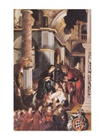 Oberried Altarpiece, The Birth of Christ - various sizes