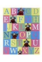 Alphabet Theory - mini Fine Art Print