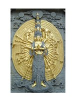 Jiuhuashan Bodhisattva Fine Art Print