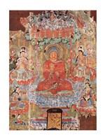 Amitabha Buddha Fine Art Print