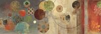 Mosaic Circles I by Aimee Wilson - various sizes - $29.99
