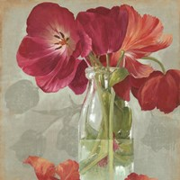 Glass Flowers II by Asia Jensen - various sizes, FulcrumGallery.com brand