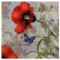 "Jardin by Aimee Wilson - 19"" x 19"""