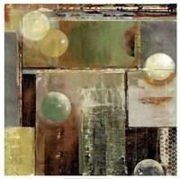 Ice & bubbles II Fine Art Print