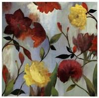 "Wildflowers II by Asia Jensen - 25"" x 25"""