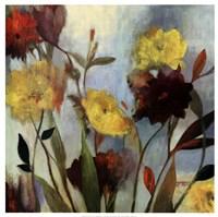 """Wildflowers I by Asia Jensen - 25"""" x 25"""""""