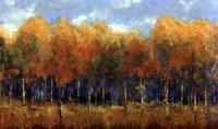 Violet Landscape Fine Art Print