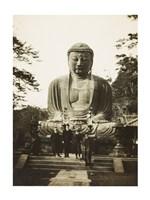 Daibutsu Buddha at Kamakura Fine Art Print