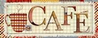 """Patchwork Cafe I by Pela Studio - 20"""" x 8"""" - $10.99"""