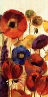Joyful Garden II Framed Print