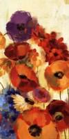 "Joyful Garden III by Silvia Vassileva - 12"" x 24"", FulcrumGallery.com brand"