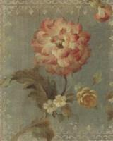 Poppy on Sage Fine Art Print
