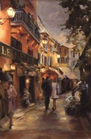 Evening in Paris Fine Art Print