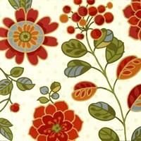 """Summer palette I by Lisa Audit - 18"""" x 18"""""""