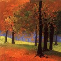 Autumn Trees Fine Art Print