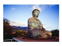 Bronze Buddha's Statue, Jodo Mission, Lahaina, Maui, Hawaii, USA - various sizes