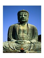 Statue of Buddha, Kamakura, Japan Fine Art Print