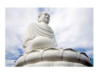 Statue of Buddha, Long Son Pagoda, Nha Trang, Vietnam - various sizes, FulcrumGallery.com brand